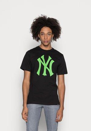 NEW YORK YANKEES  - T-shirt print - jet black
