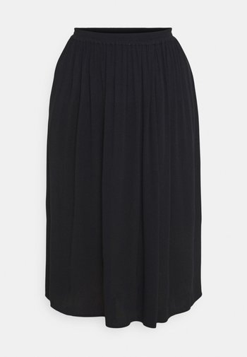 CARTRIB LIFE LONG SKIRT SOLID - A-line skirt - black