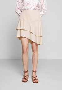 Bruuns Bazaar - LAERA DOLPHINE SKIRT - A-line skirt - sand - 0