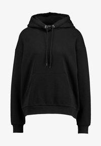 Monki - ODA URGENT - Jersey con capucha -  black - 3