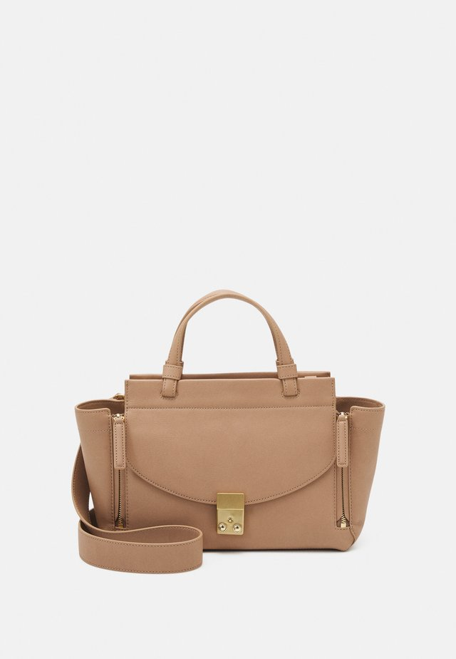 PASHLI SMALL SOFT MINI SATCHEL - Käsilaukku - praline