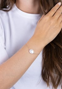 Nordahl Jewellery - ARMBAND MIT SÜSSWASSERPERLE - Bracelet - silver - 0