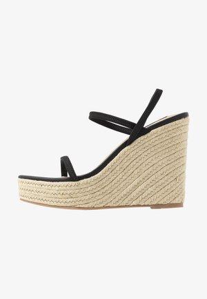 SKYLIGHT - Sandály na vysokém podpatku - black