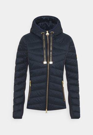 GRID QUILT - Light jacket - dark navy