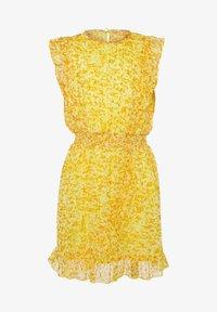 WE Fashion - WE FASHION MEISJES JURK MET GLITTERDETAILS - Vestido informal - yellow - 2