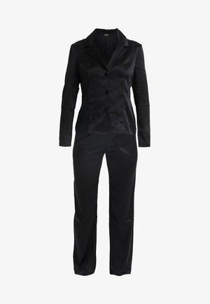 LONG PAJAMAS SHORT VERSION SET - Pyjama set - black