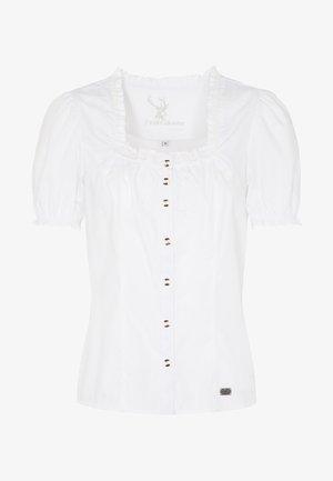 KABARETT - Button-down blouse - white