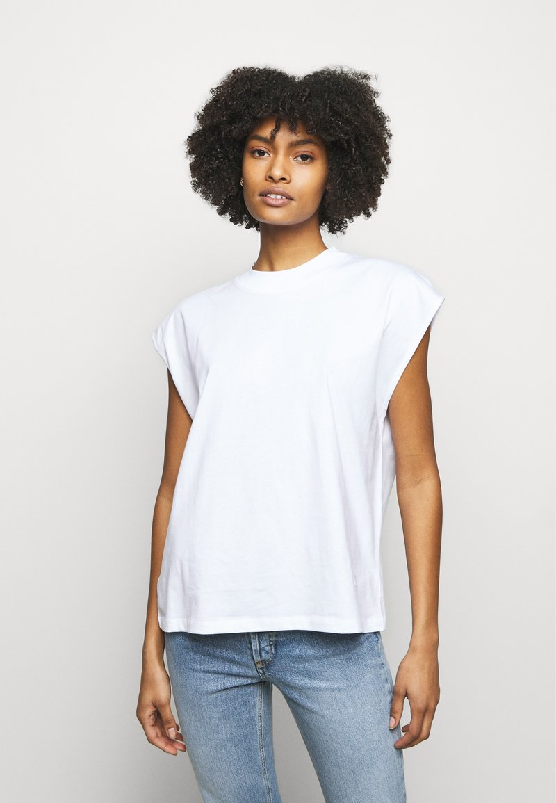 House of Dagmar - MAGGIE - Print T-shirt - white