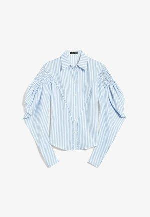 M-CRISSI - Button-down blouse - weiß blau