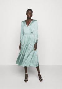 HUGO - KIMUSA - Cocktail dress / Party dress - light/pastel green - 0