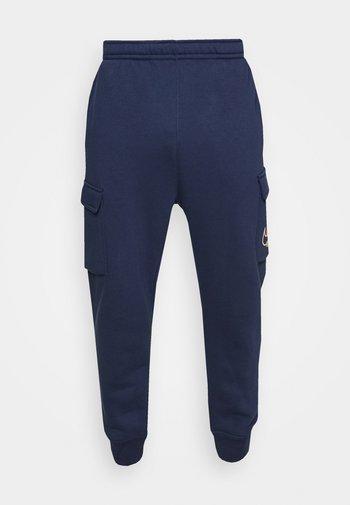 CARGO PANT - Pantaloni sportivi - midnight navy
