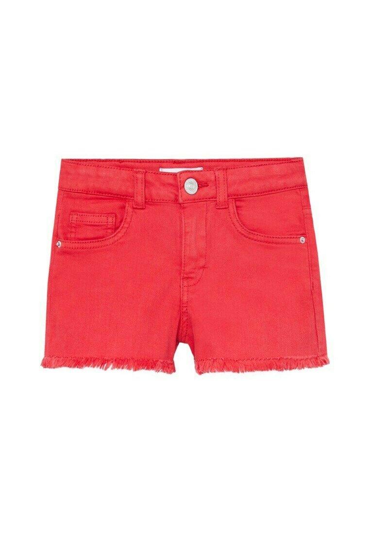 Kinder MET GERAFELDE ZOMEN - Jeans Shorts