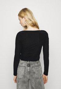 Monki - ULLE - Long sleeved top - black - 2