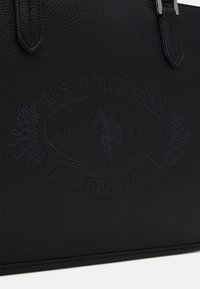 U.S. Polo Assn. - NEW HAILEY LARGE SHOPPING - Shopping bag - black - 3