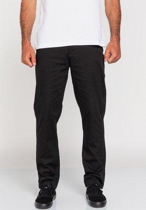 SAWYER - Trousers - flint black