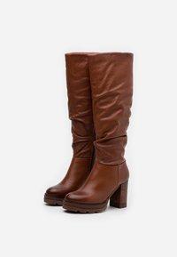 MJUS - High heeled boots - mustard - 2