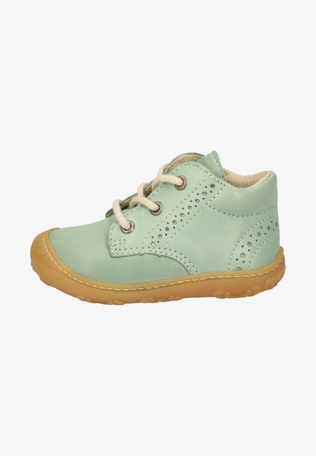 Lær-at-gå-sko - jade