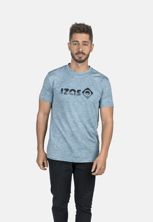 T-shirt sportiva - coronet blue