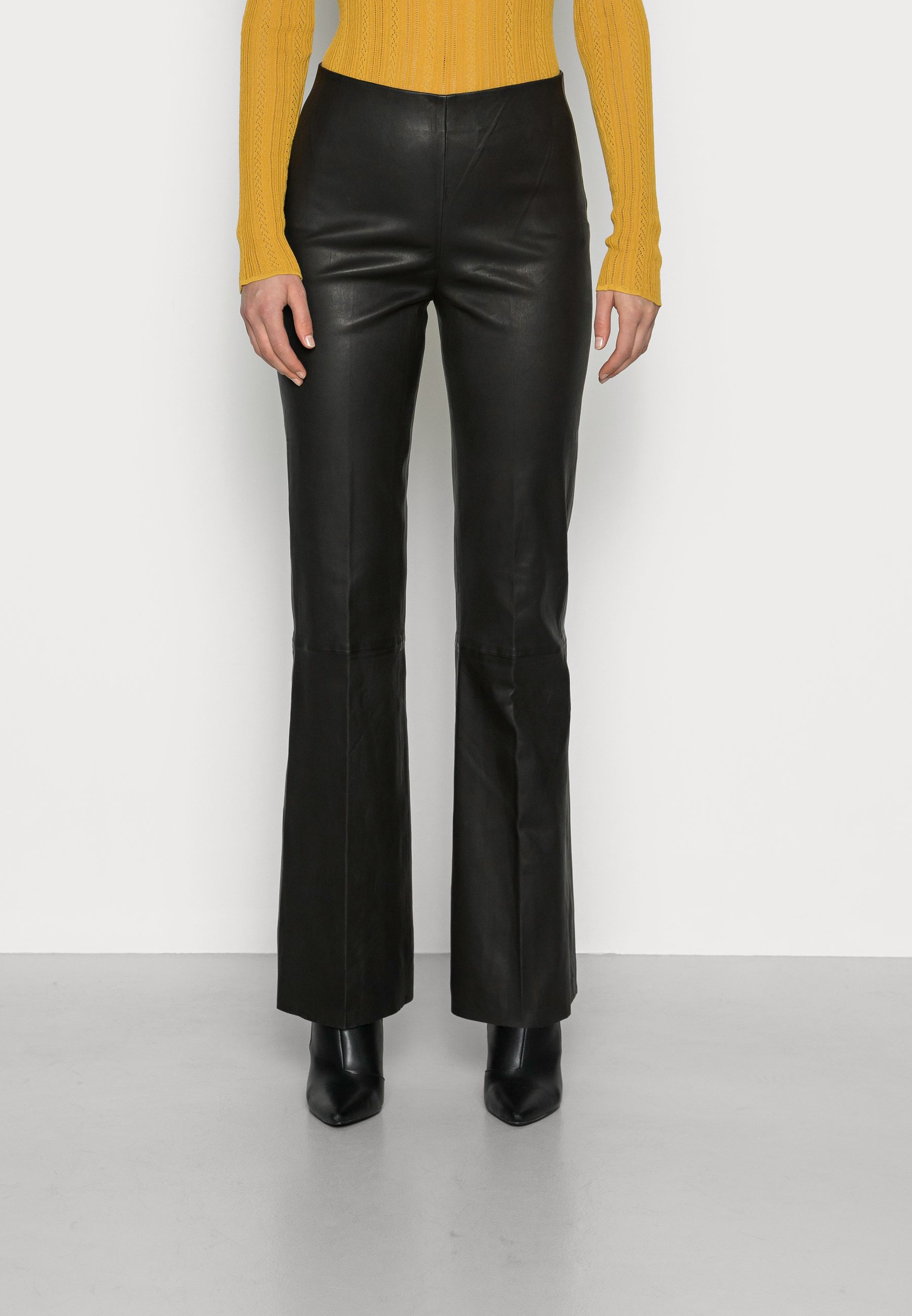 Women MABELLA - Leather trousers