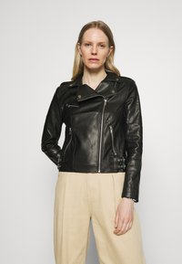 Marks & Spencer London - Bunda zumělé kůže - black - 0