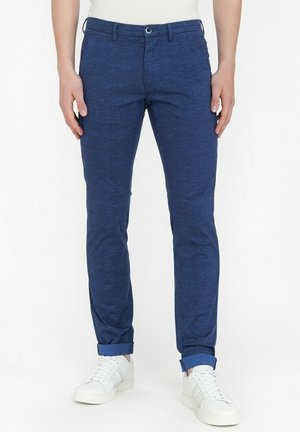 Pantalones chinos - blue