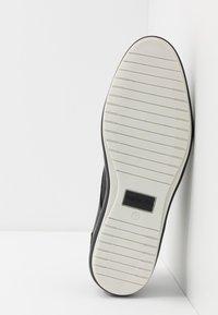 Pantofola d'Oro - MILAZZO UOMO LOW - Sznurowane obuwie sportowe - black - 4