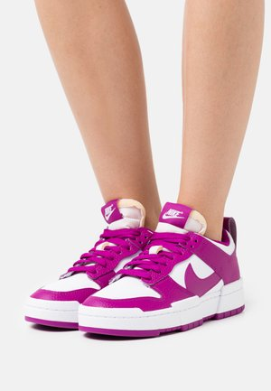 DUNK DISRUPT - Baskets basses - white/red plum