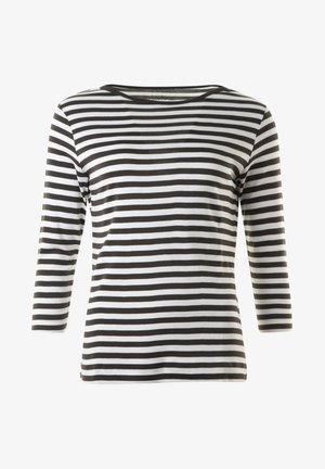 DILLAN - Långärmad tröja - khaki/offwhite