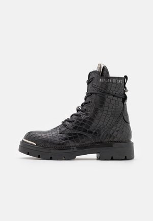 MARYLAND - Lace-up ankle boots - black