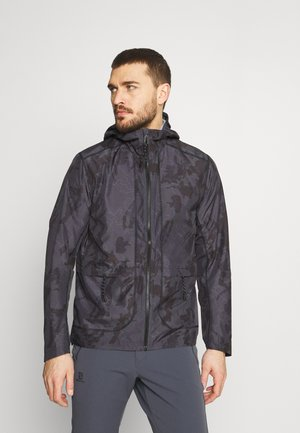 OUTLIFE PACKABLE - Outdoorjacke - black