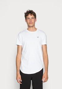 Hollister Co. - 3 PACK - Basic T-shirt - white/ grey /black - 3