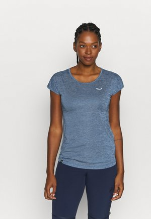 PUEZ DRY TEE - T-shirts print - poseidon melange