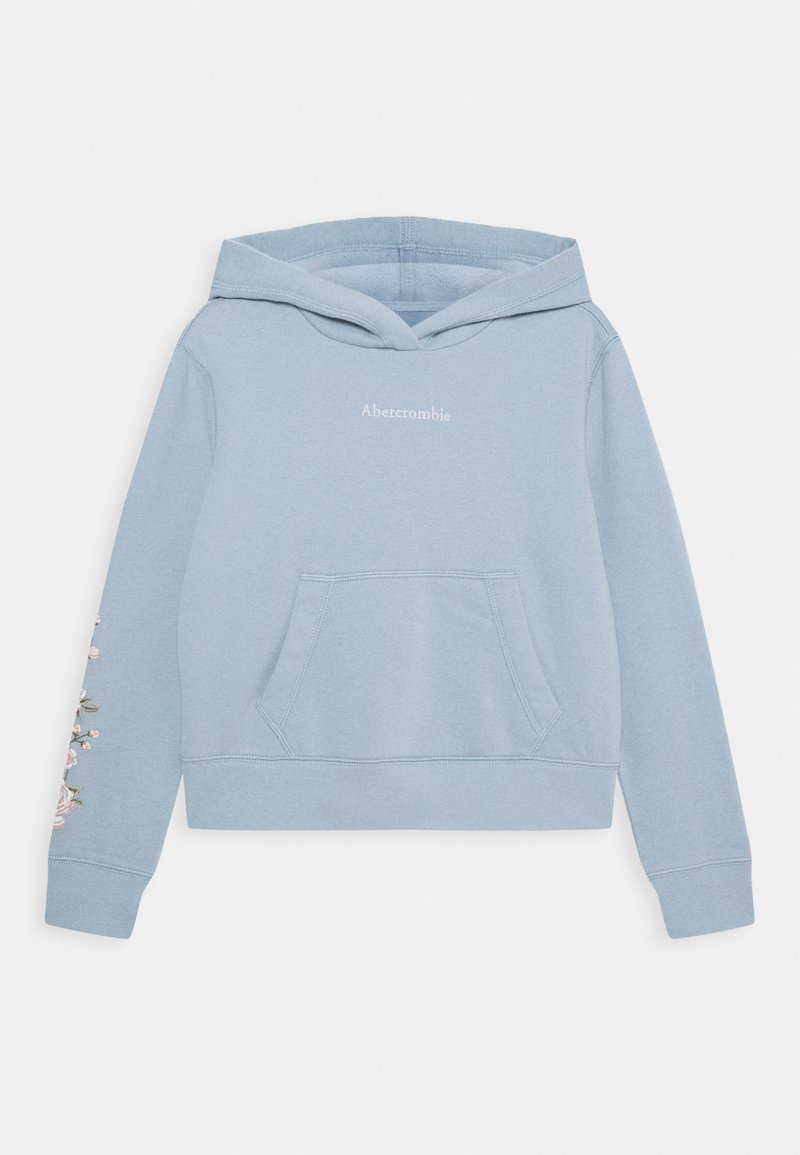 Abercrombie & Fitch - EMBROIDERY - Mikina - blue