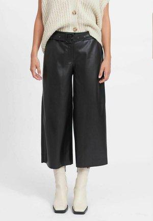 CROPPED - Pantaloni - black