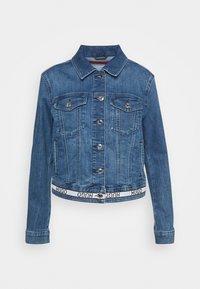 ALEX - Denim jacket - bright blue
