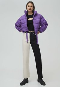 PULL&BEAR - Winter jacket - mottled purple - 1