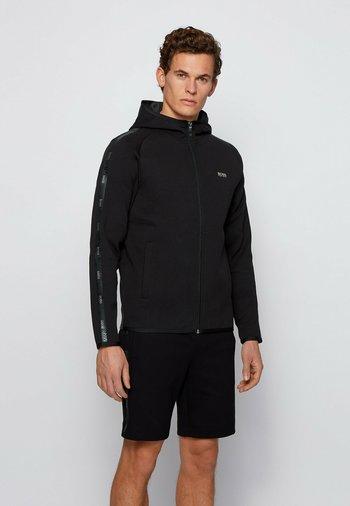 SAGGY 2 - Zip-up sweatshirt - black