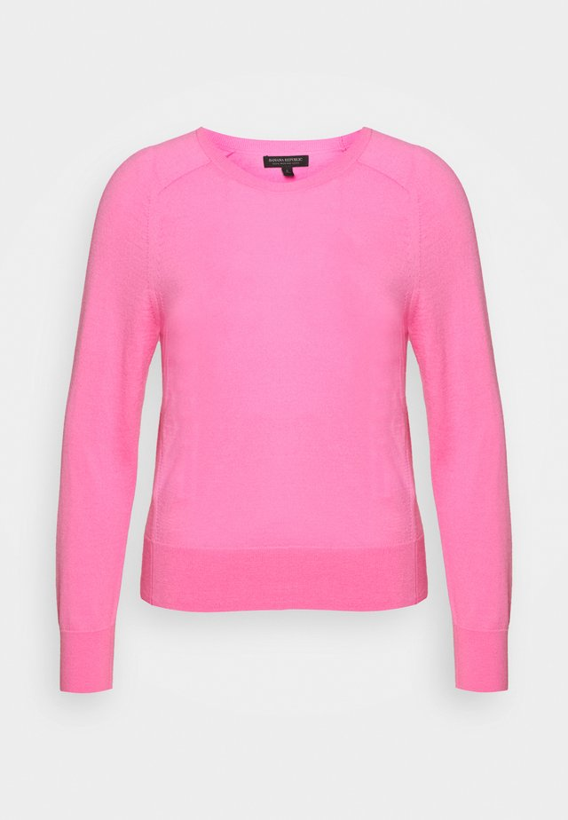 CREW SOLIDS - Jumper - miami pink
