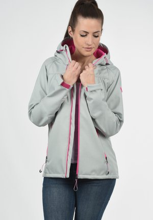 SOLEY - Soft shell jacket - light grey