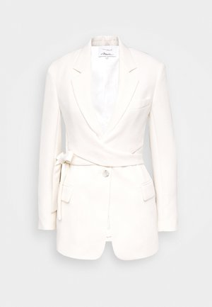 HEAVY CADY WRAP - Short coat - offwhite