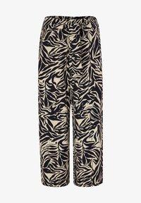 s.Oliver BLACK LABEL - Trousers - light beige aop - 5