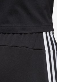 adidas Performance - ESSENTIALS 3STRIPES FRENCH TERRY SPORT PANTS - Tracksuit bottoms - black - 5