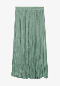 Mango - PALMER - Plisovaná sukně - aquamarijn - 4
