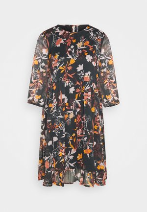 PCFLOWIN DRESS - Day dress - black