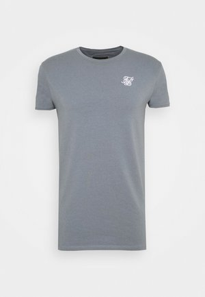 GYM TEE - T-shirt - bas - blue slate