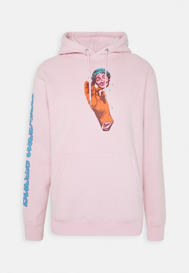 Kapuzenpullover - snow pink