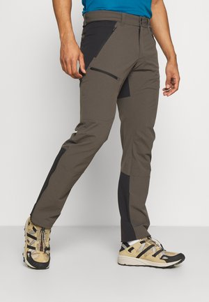 LIGHT CARBON PANTS - Pantaloni outdoor - black/olive