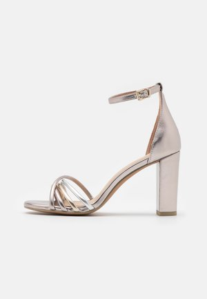Sandalias - rose metallic