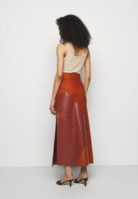 Bally - MIXED SKIRT - Maxi skirt - spice - 2