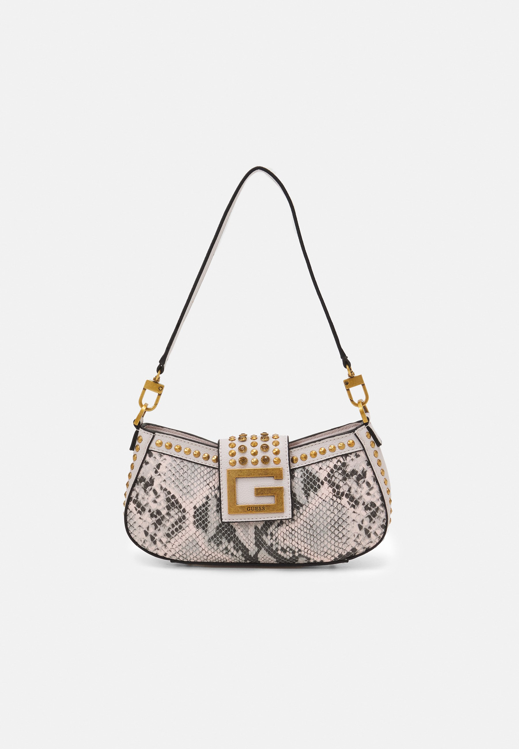 Women BLING TOP ZIP SHOULDER BAG - Handbag